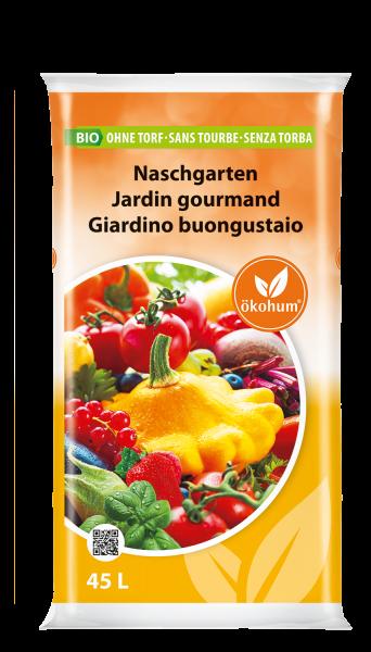 Bio Naschgarten ohne Torf 45 L
