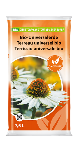 Bio Universalerde ohne Torf 7.5 L